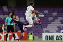 گزارش بازی استقلال و العین امارات/ استقلال 1  العین 1