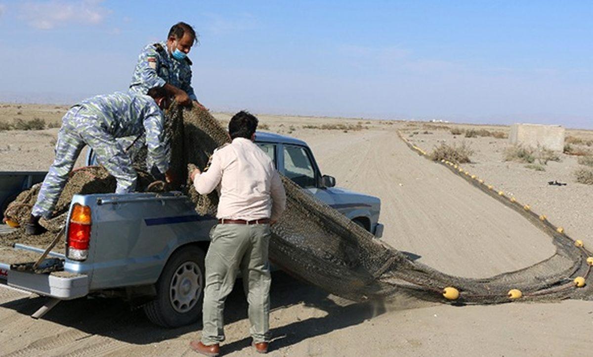 اجرای طرح مقابله با صید غیرمجاز در شهرستان جاسک