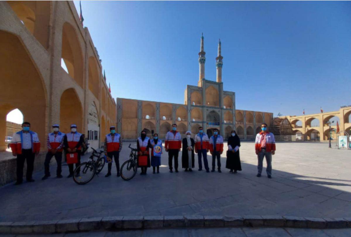 کارکردهای نوین طرح سحاب هلال احمر در یزد معرفی شد