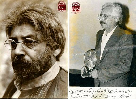 اهدای یادگاری های زنده یاد جمشید مشایخی به موزه سینما
