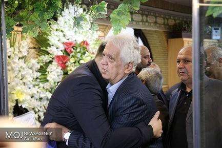 مراسم ختم بهرام شفیع مجری پیشکسوت