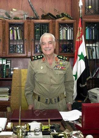 وزیر دفاع اسبق سوریه درگذشت