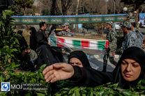 ورود پیکر ۱۹۲ شهید دفاع مقدس از مرز شلمچه به کشور