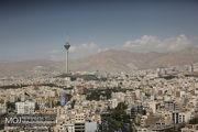 کیفیت هوای تهران در 12 آبان پاک است
