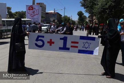 راهپیمایی+روز+جهانی+قدس+در+کرمانشاه