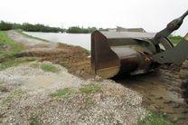 آغاز عملیات برداشت جاده احداثی در تالاب استیل