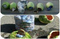 کشف 29 کیلوگرم تریاک از بار هندوانه