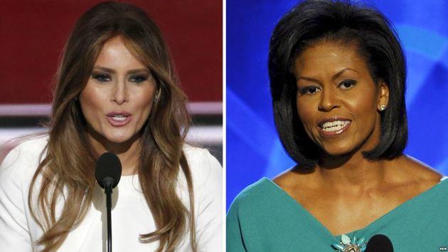مقایسه میشل اوباما و ملانیا ترامپ با معیار تشخص زنان