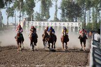 هفته قهرمانی مسابقات اسبدوانی کورس بهاره گنبدکاووس برگزار شد