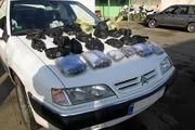 کشف 400 کیلو تریاک از یک خودروی سواری سمند در اصفهان