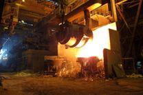 رکورد تخلیه روزانه ذوب فولاد مبارکه برای سومین بار پیاپی در سال جاری شکسته شد