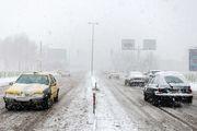 بارش برف و باران در محورهای ۷ استان کشور