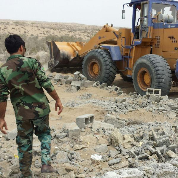 پیشگیری و رفع تصرف از 420 هکتار از اراضی ملی استان هرمزگان