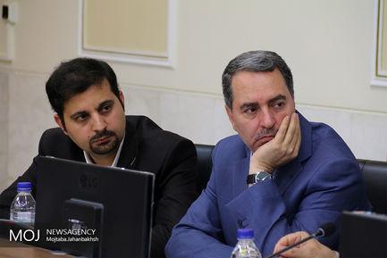 نشست خبری استاندار اصفهان
