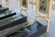 ساماندهی گلزار شهدای مصطفویه در خمینی شهر افتتاح شد