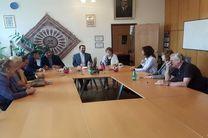 دیدار سفیر ایران در سوریه با ایران شناسان روسی