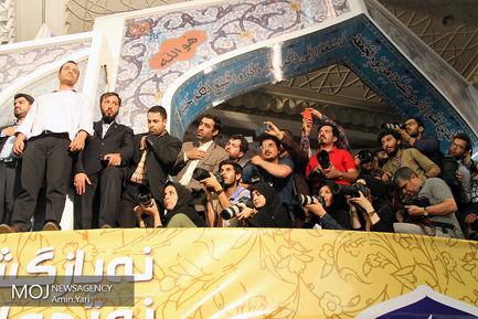 همایش حامیان سید ابراهیم رئیسی در مصلی تهران (4)