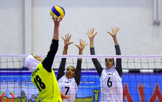 دعوت دو دختر والیبالیست گیلانی به اردوی تیم ملی والیبال جوانان