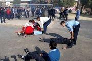 برگزاری پدافند غیر عامل در مدارس بوموسی