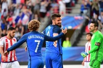 پیروزی پر گل فرانسه برابر پاراگوئه با هتتریک ژیرو و برتری شیلی