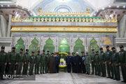 فرماندهان نیروی هوایی ارتش با آرمانهای امام (ره) تجدید میثاق کردند
