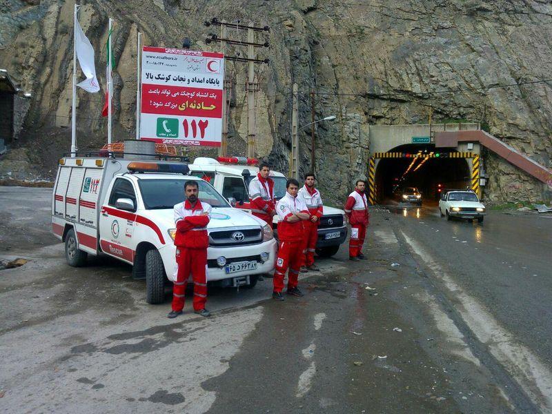 امدادرسانی به ۴۵۱ نفر در حوادث و سوانح سه روز گذشته