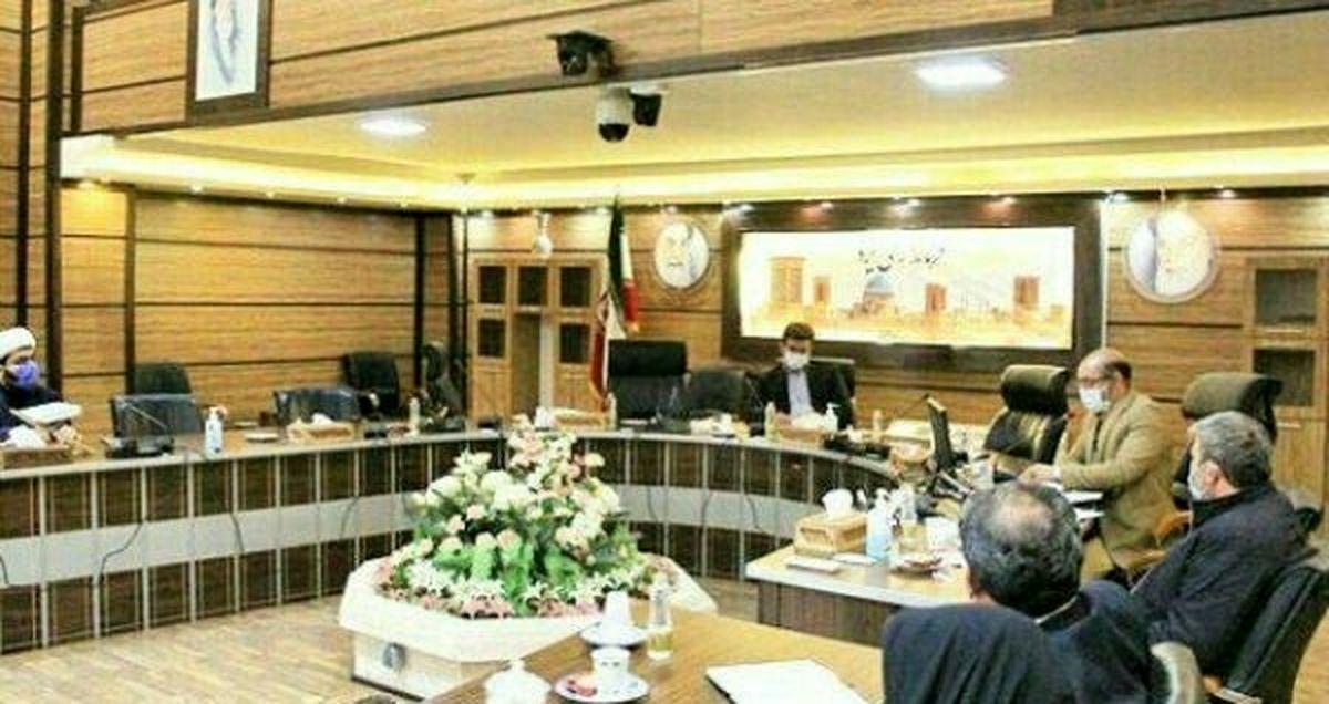 سومین جلسه هماهنگی انتخابات شهرستان یزد به ریاست فرماندار یزد