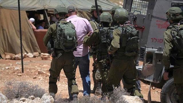 بازداشت 11 فلسطینی در کرانه باختری توسط رژیم صهیونیستی