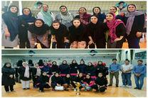 مسابقات لیگ دسته اول و دوم والیبال بانوان مازندران پایان یافت