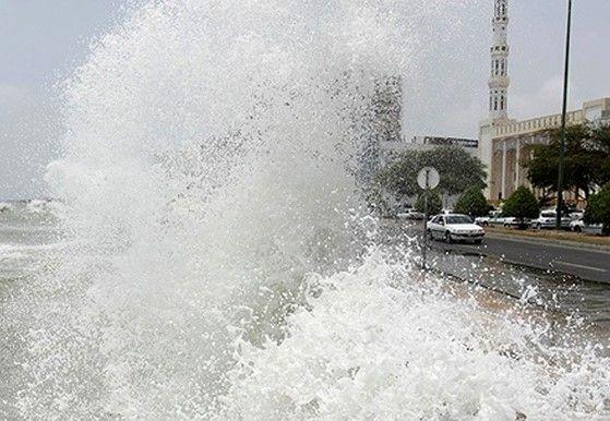 شرایط ناپایدار جوی در مناطق مرکزی و غرب هرمزگان