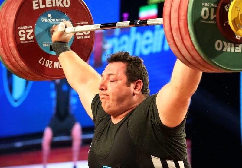 سعید علی حسینی در مسابقات وزنه برداری قهرمانی امریکا نایب قهرمان جهان شد
