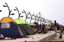 نصب چادر در ساحل و بوستانهای بندرعباس ممنوع است