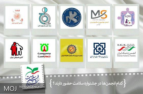 معرفی انجمنها حاضر در جشنواره فیلم سلامت