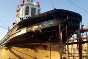 آغاز تعمیرات اساسی یدک کش خلیج فارس ۴ در بندر شهید رجایی