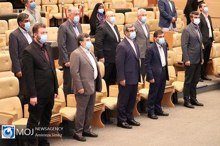 افتتاح ۱۱ پروژه در کیش با ارتباط تصویری رییس جمهوری
