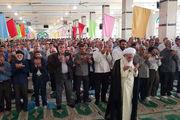 نماز عید قربان به امامت آیتالله علما در کرمانشاه اقامه شد