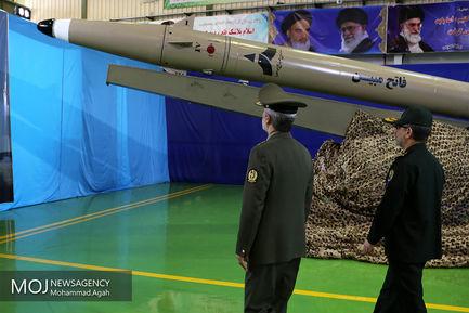 رونمایی از موشک فتح مبین