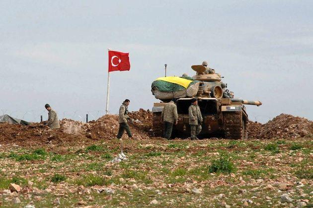 افتتاح نخستین پایگاه نظامی ترکیه در غرب حلب