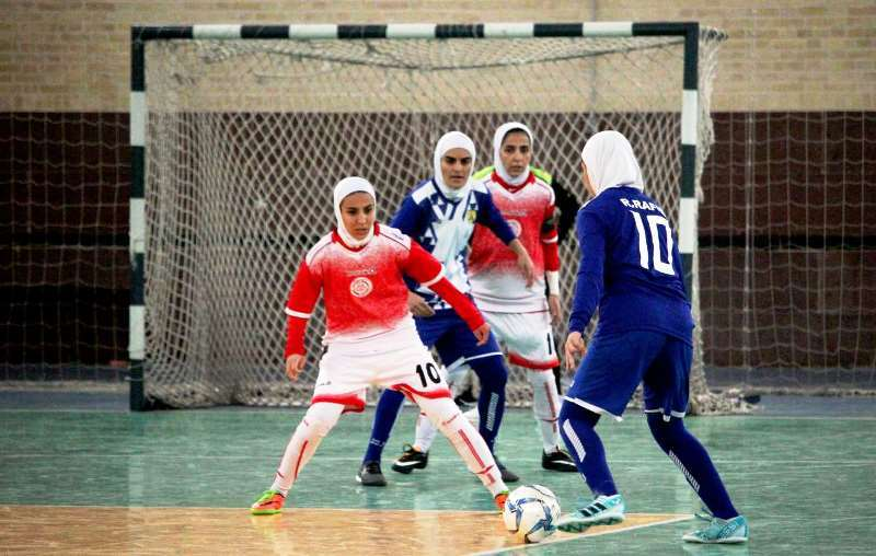 مسابقات لیگ برتر فوتسال جوانان باشگاه های استان یزد در بخش بانوان برگزار شد
