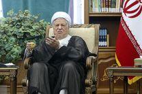 دعوت هاشمی رفسنجانی از مردم برای حضور در راهپیمایی روز قدس