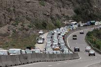 آخرین وضعیت ترافیکی جاده ها/ محور کندوان از شنبه تا سهشنبه مسدود است