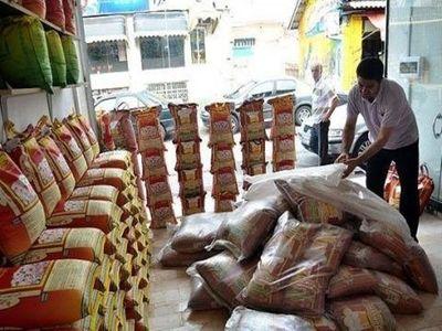 توزیع برنج خارجی در مازندران نداریم