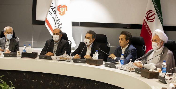 برپایی جلسه مشاوران و مدیران حوزه مجلس وزارت اقتصاد به میزبانی بانک ملت