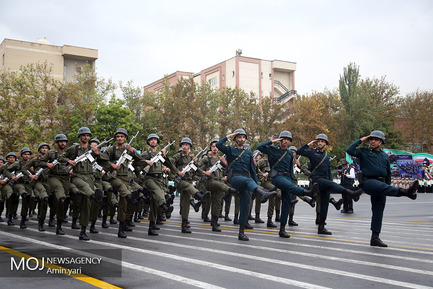 صبحگاه مشترک فرماندهی نیروی انتظامی