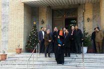 محسن هاشمی از کلیسای حضرت یوسف بازدید کرد