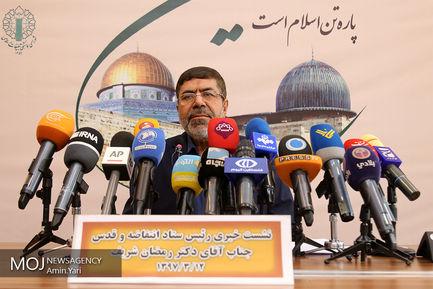سردار رمضان شریف رییس ستاد انتفاضه