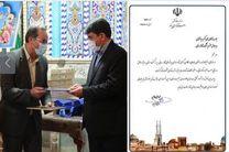 تقدیر استاندار یزد از مدیرعامل شرکت گاز استان به دلیل اجرای پروژه های گازرسانی