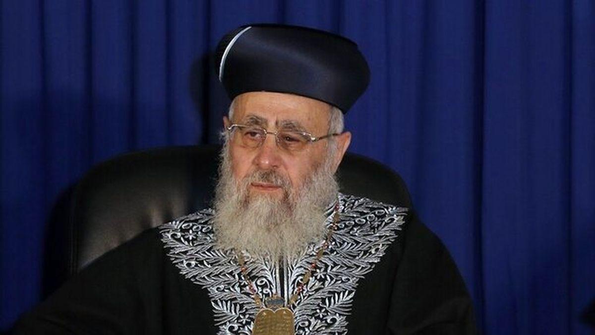 خاخام ارشد رژیم صهیونیستی به امارات سفر کرد