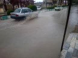 بارش باران و آبگرفتگی معابر بندرعباس