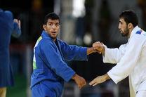 سنگین وزن جودوی ایران از دور رقابتهای آسیا کنار رفت